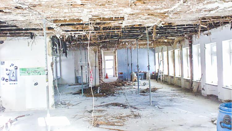Umbau deutsches Zollhaus, 2009