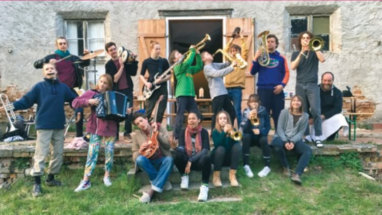 "Big Band der freien Waldorfschule Kreuzberg ""The Rolling Steiners"""