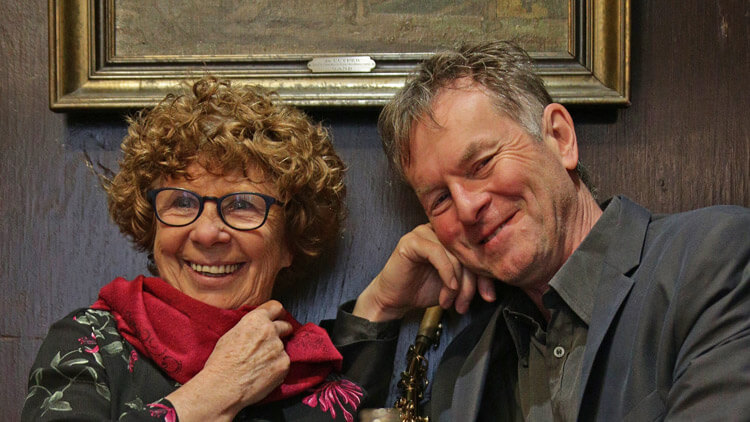 Sylvie Schenk und Heribert Leuchter; Foto: Ales Vega